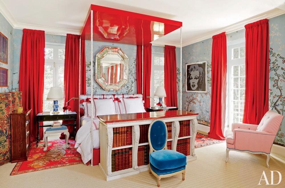 Modern Bedroom by Miles Redd in Houston, TX