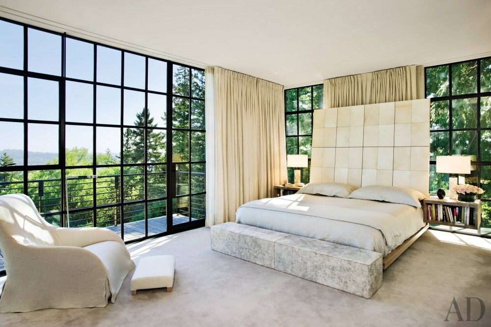 Modern Bedroom by Olson Kundig Architects and Olson Kundig Architects in Portland, OR