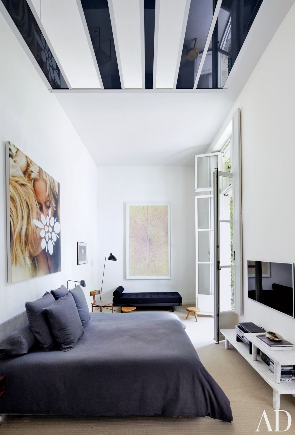 Modern Bedroom in Paris, France