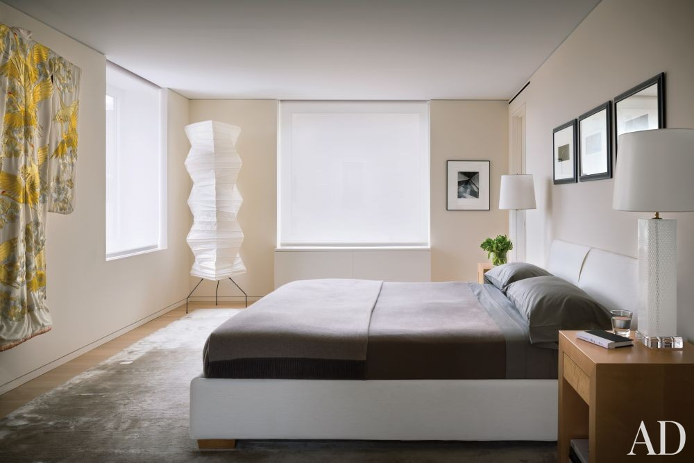 Modern Bedroom by Rees Roberts + Partners and Steven Harris Architects in New York, New York