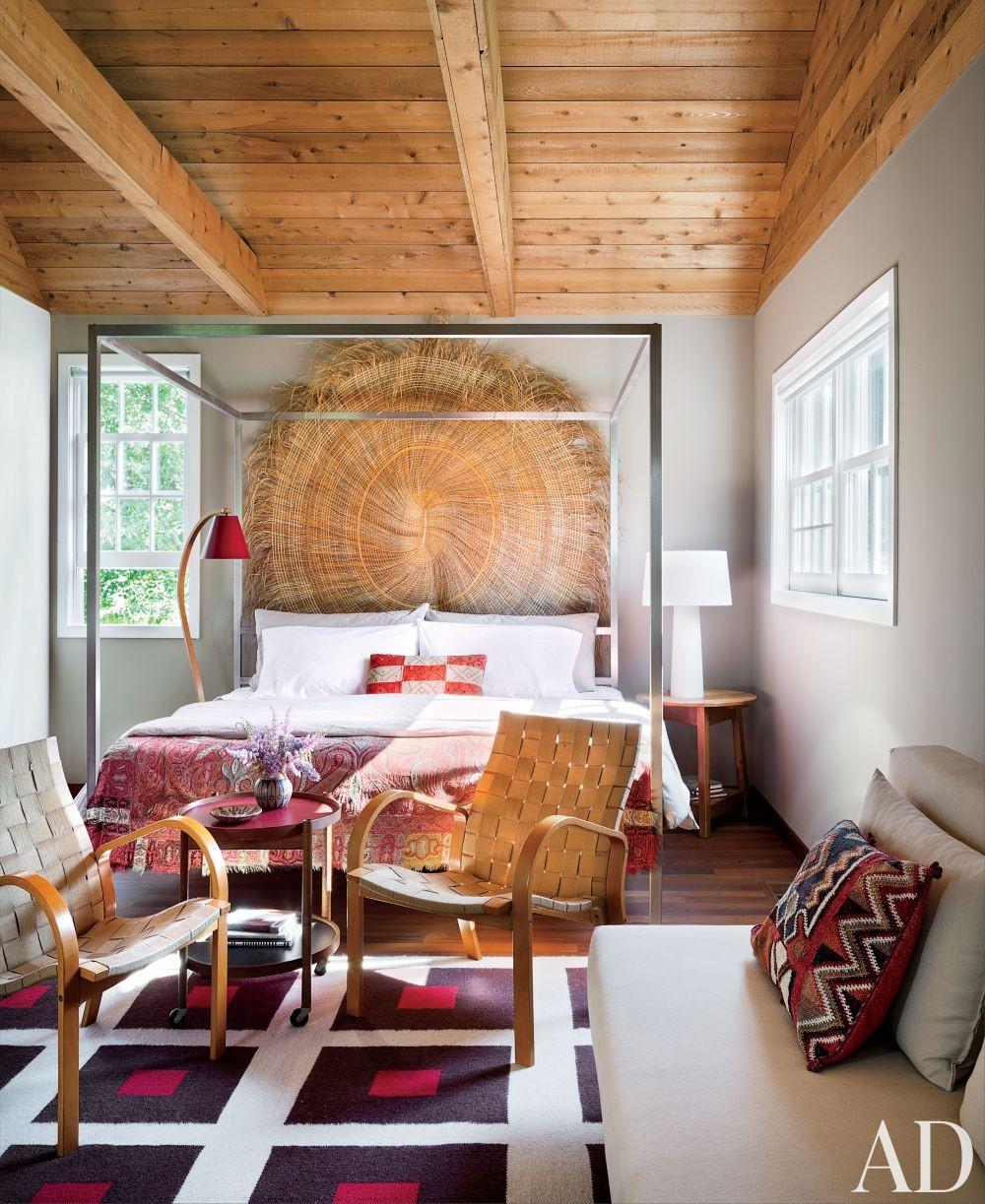 Modern Bedroom and Christoff:Finio Architecture in Sagaponack, New York