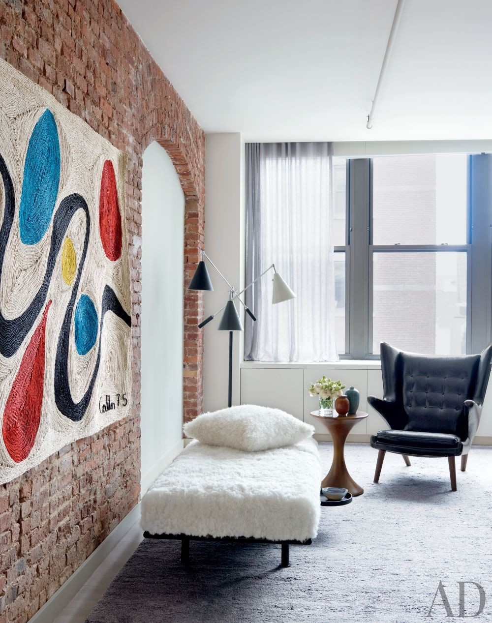 Modern Bedroom by Shawn Henderson Interior Design and Richard Perry Architect in New York, New York