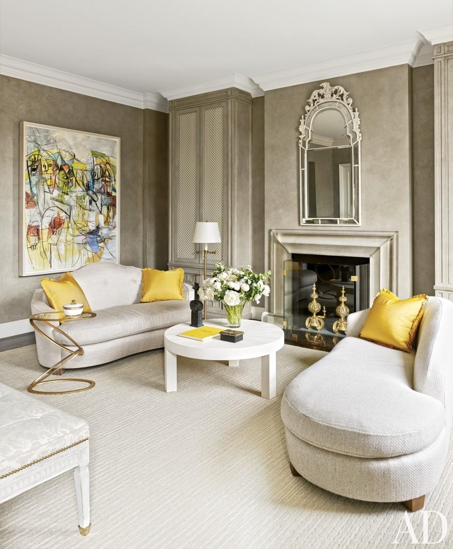Modern Bedroom by Stephen Sills Associates and John B. Murray Architect in New York, New York