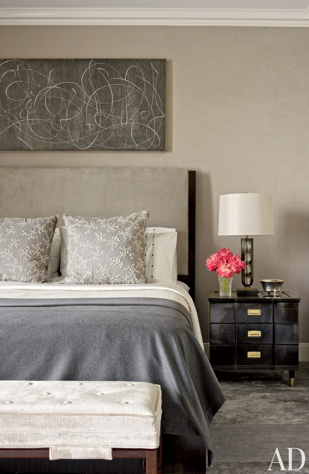 Modern Bedroom by Victoria Hagan Interiors and Peter Pennoyer Architects in New York, NY