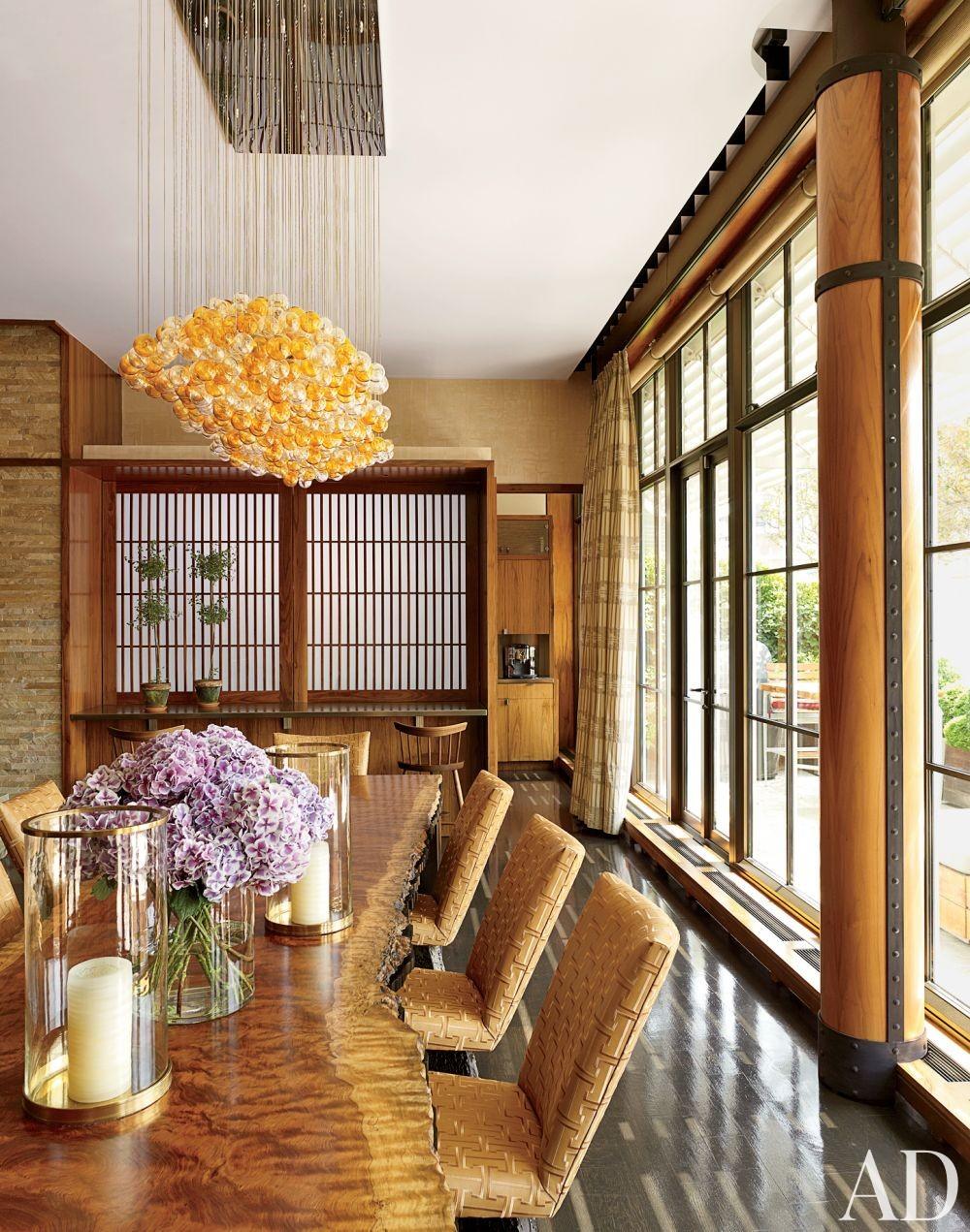 Modern Dining Room by De la Torre Design Studio and Cooper, Robertson & Partners in New York, New York
