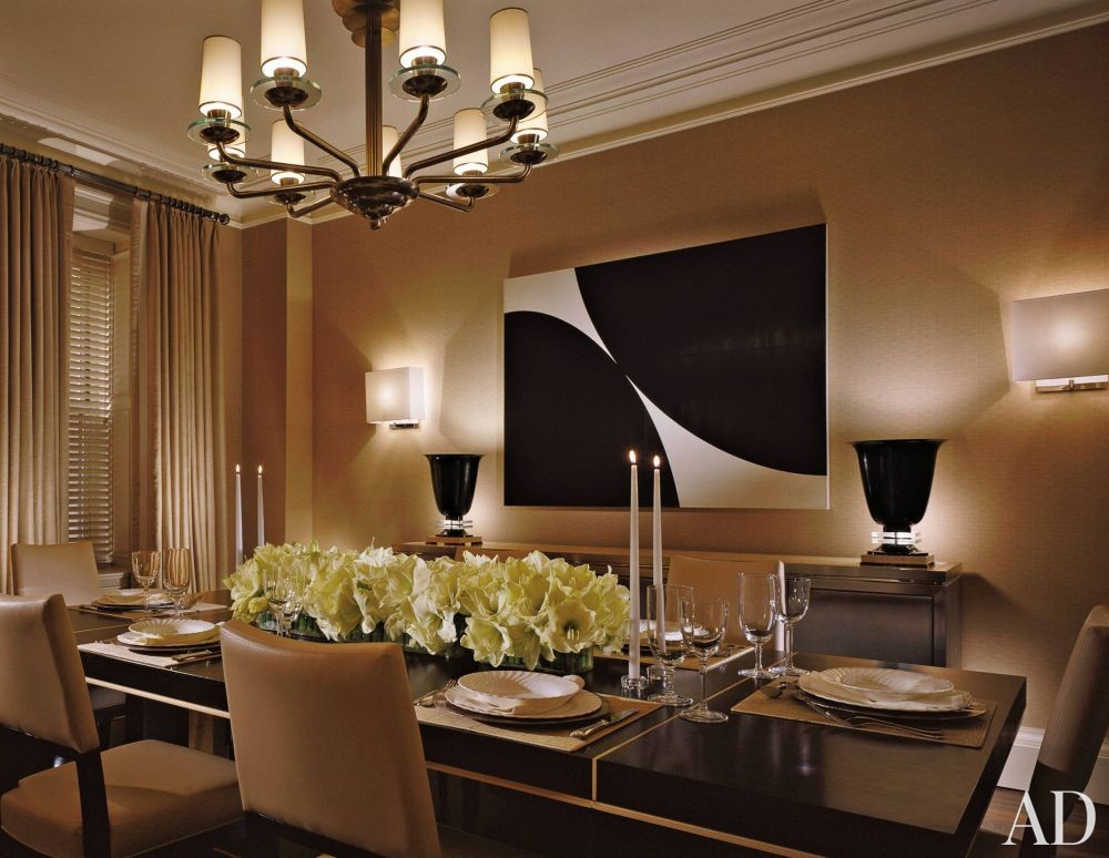 Modern dining room by douglas s wittels by architectural for Latest dining room designs