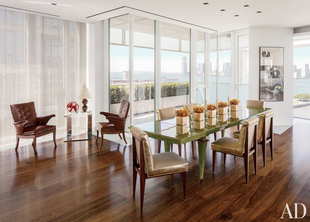Modern Dining Room by Ingrao Inc. and Preston T. Phillips Architect in New York, New York