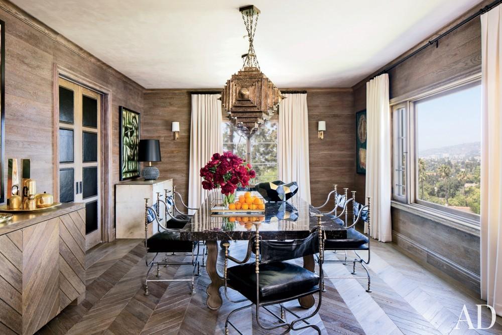 Modern Dining Room by Martyn Lawrence Bullard Design in Los Angeles, CA