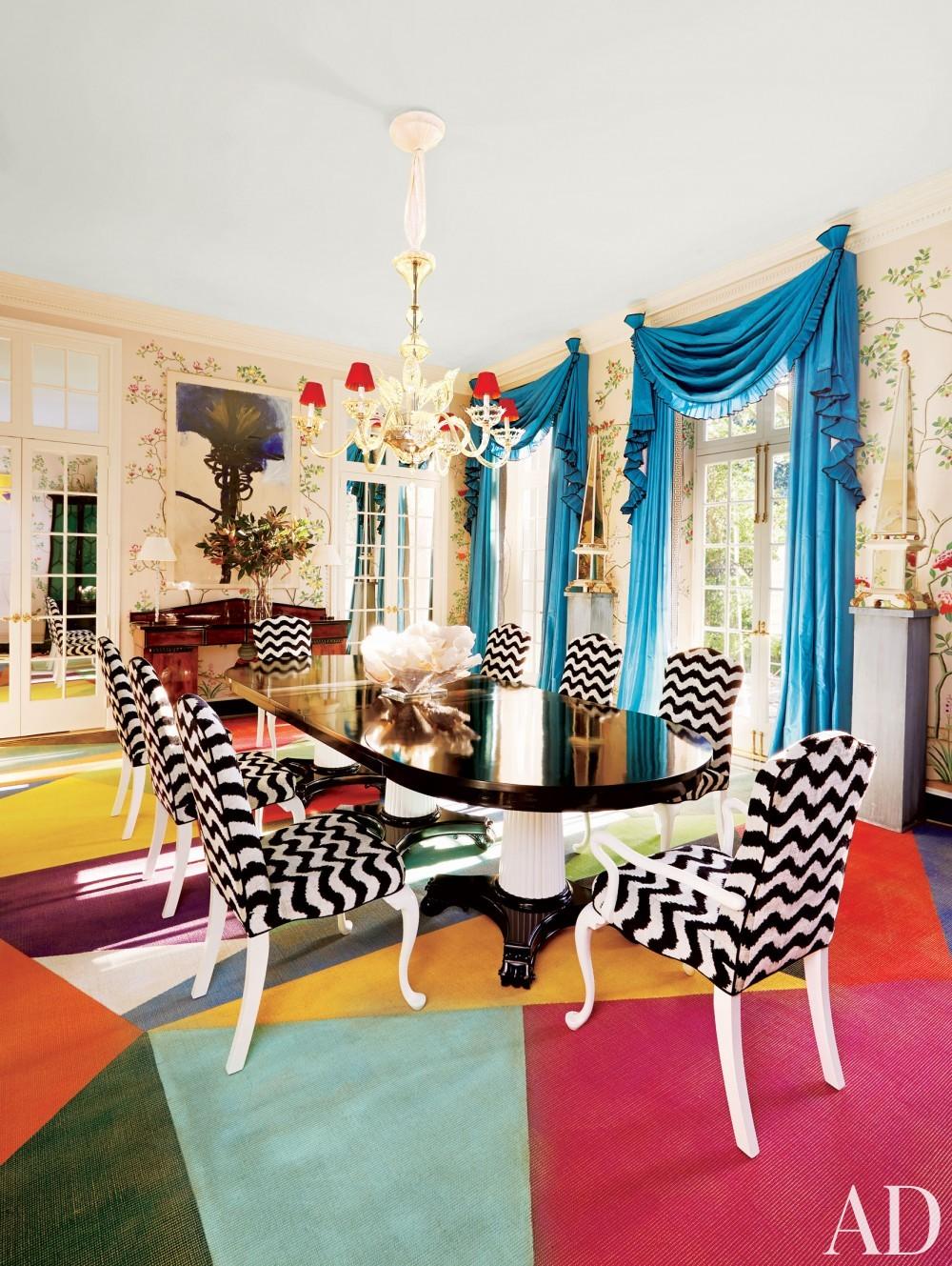 Modern Dining Room by Miles Redd in Houston, TX