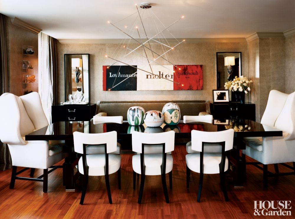modern dining room by robert passal by architectural