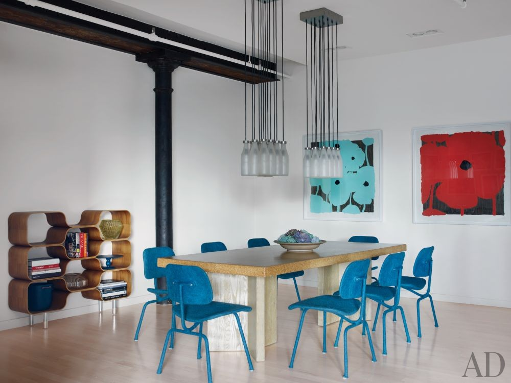Modern Dining Room by Shawn Henderson Interior Design and Richard Perry Architect in New York, New York