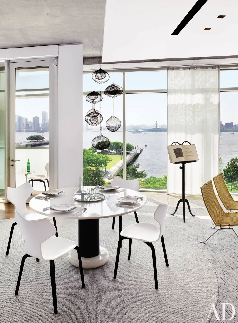 Modern Dining Room by Shelton, Mindel & Associates in New York, New York