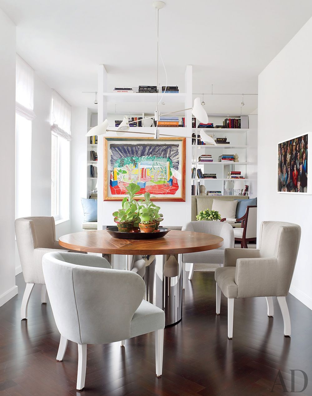 Modern Dining Room by Vicente Wolf Associates Inc. in New York, New York