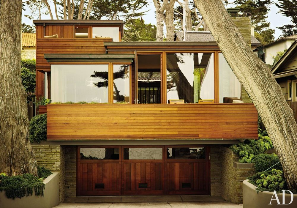 Modern Exterior and Dirk Denison in Carmel-by-the-Sea, CA