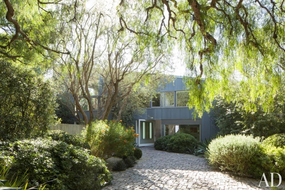 Modern Exterior by Estee Stanley Interior Design in Malibu, California