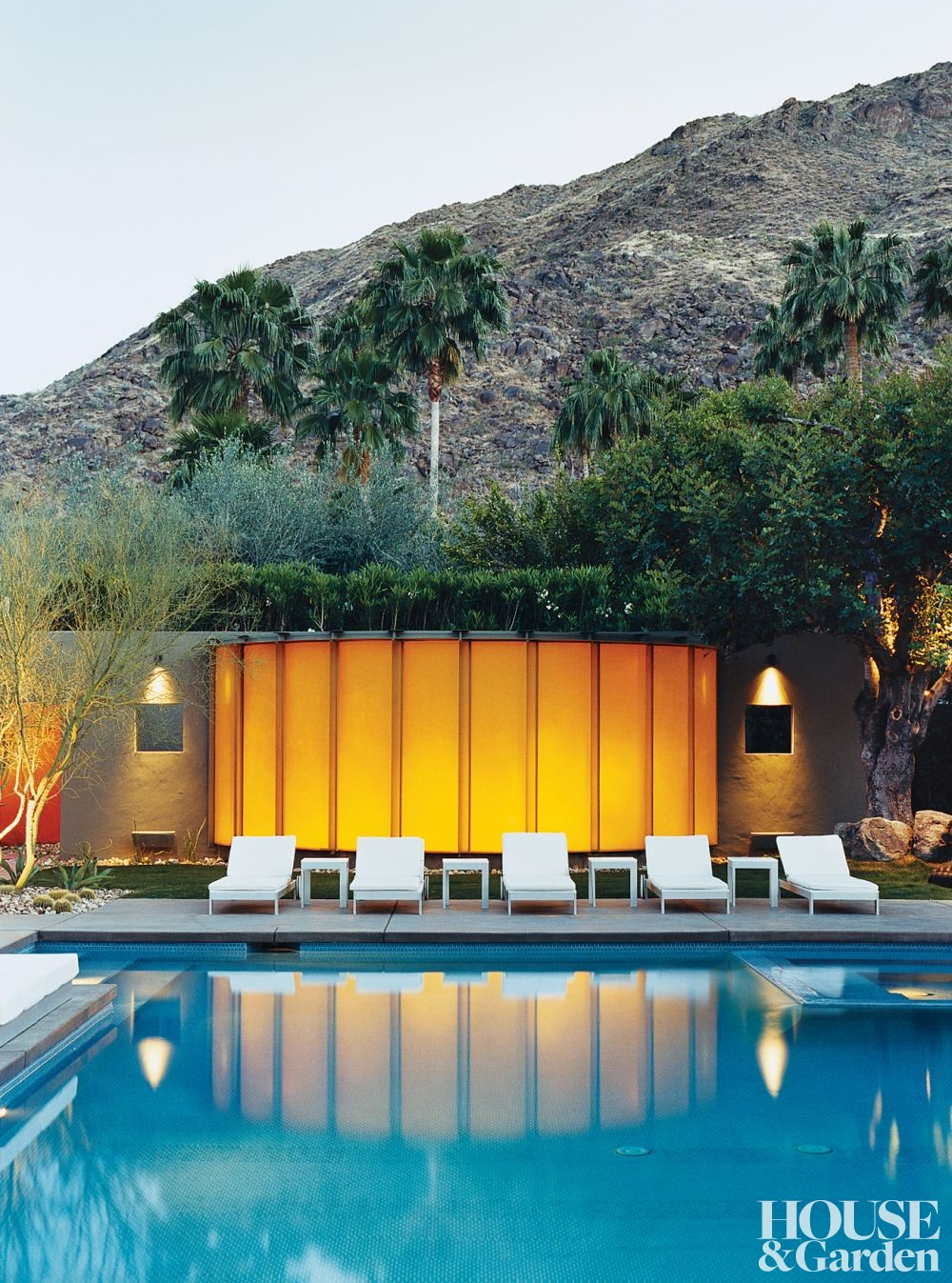 Modern exterior by marc ware by architectural digest ad for New modern homes palm springs