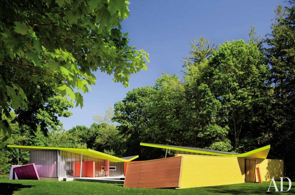 Modern Exterior and Stamberg Aferiat in Shelter Island, New York