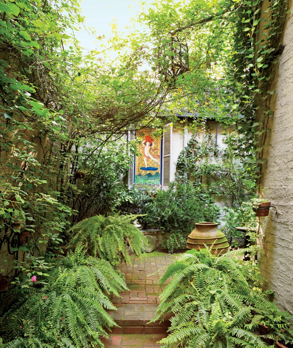 Modern Garden in New York, New York