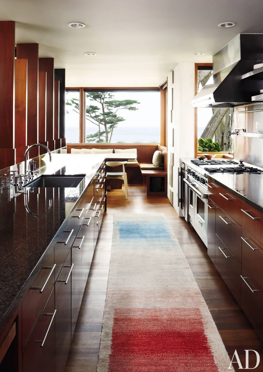 Modern Kitchen and Dirk Denison in Carmel-by-the-Sea, California