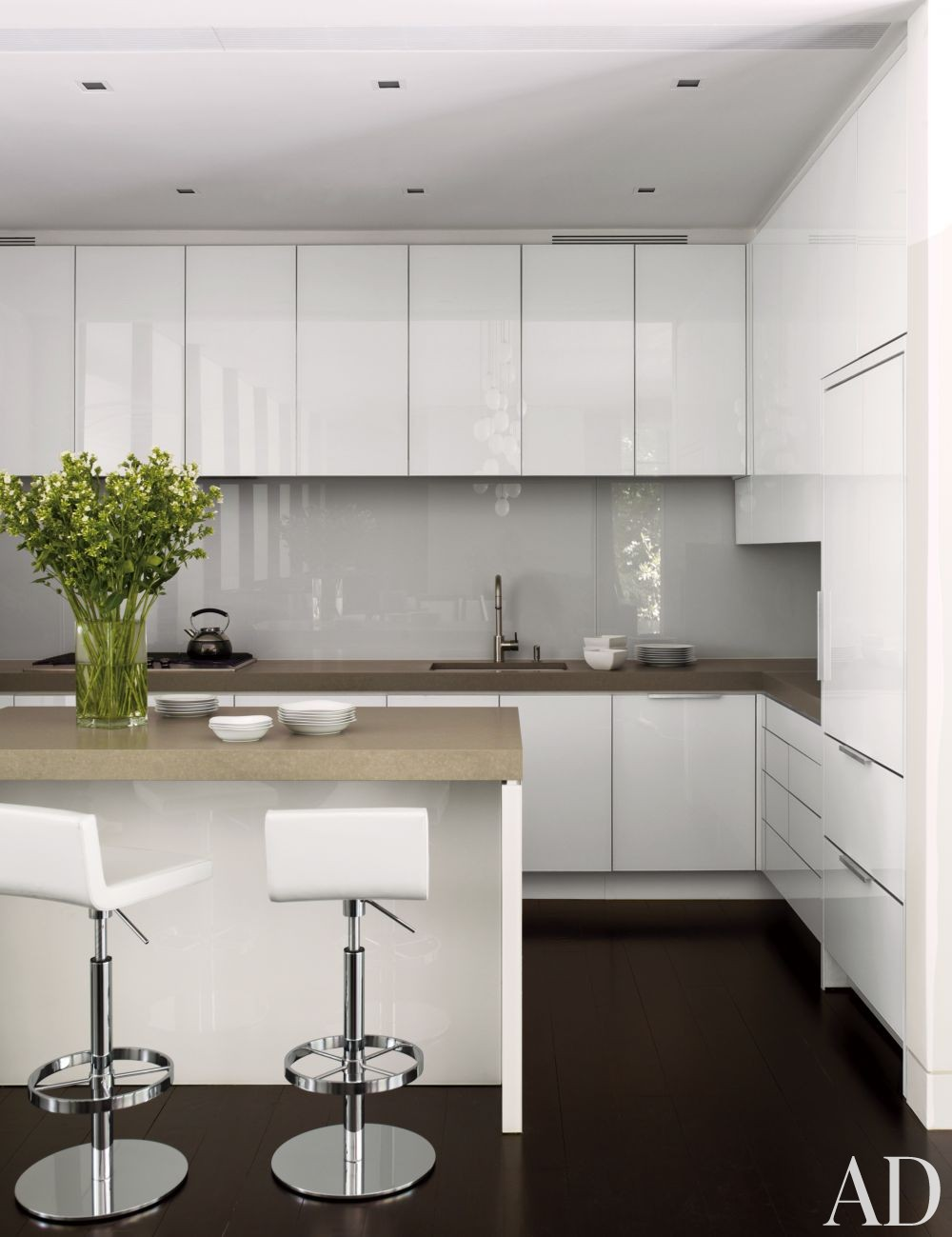 Modern Kitchen By Carrier And Co Interiors By Architectural Digest Ad Designfile Home