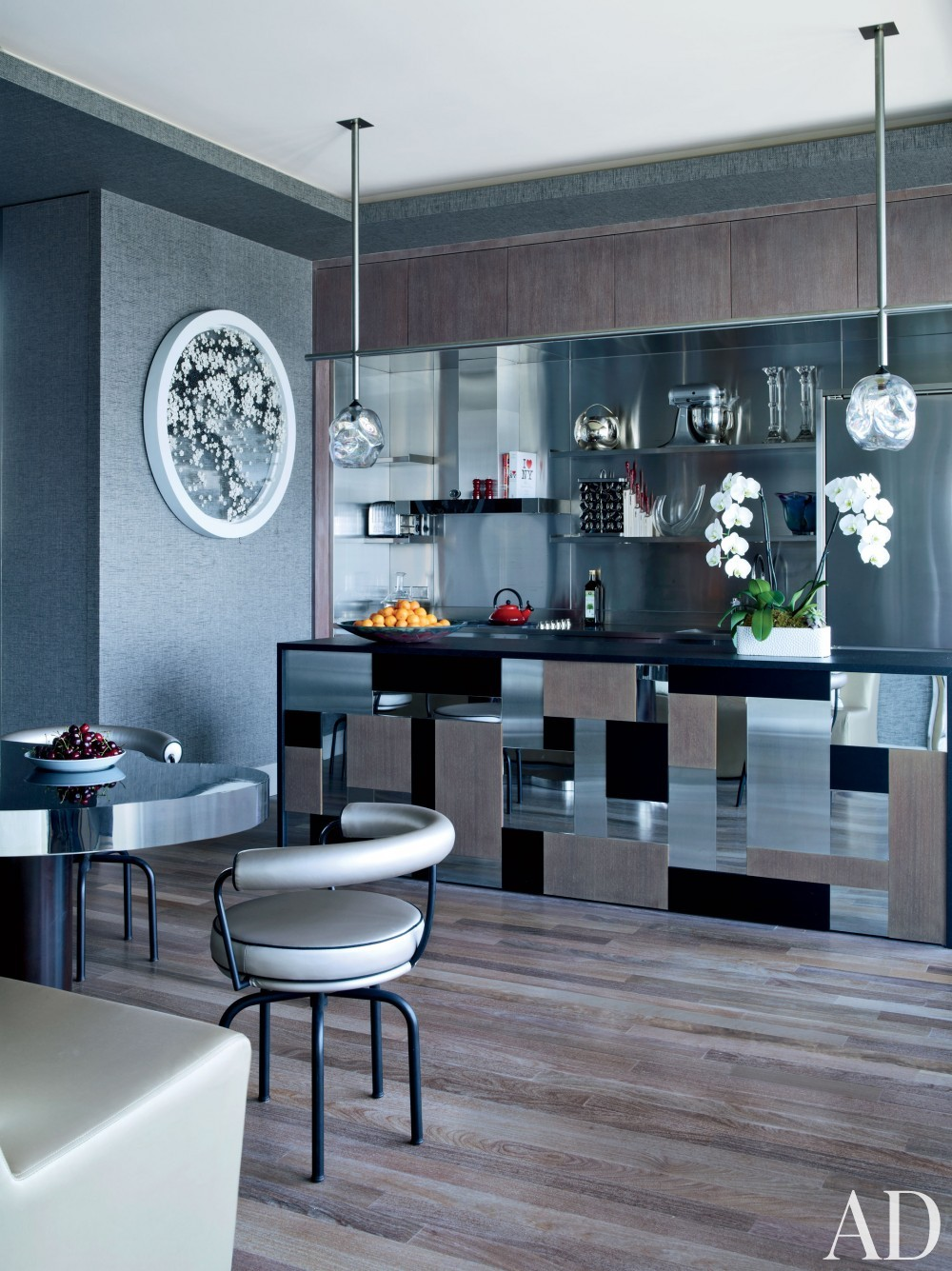 Modern Kitchen by Jean-Louis Deniot in West Side, Manhattan