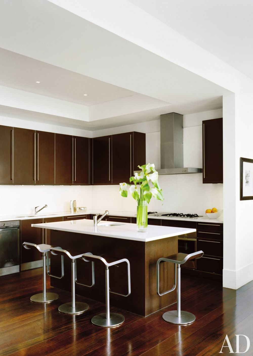 Modern Kitchen By Jennifer Post By Architectural Digest Ad Designfile Home Decorating Photos