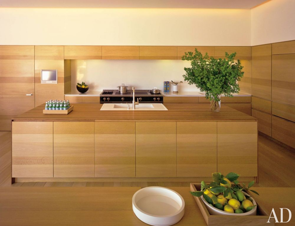 Modern Kitchen by John Pawson Ltd. and John Pawson Ltd. in Los Angeles, California