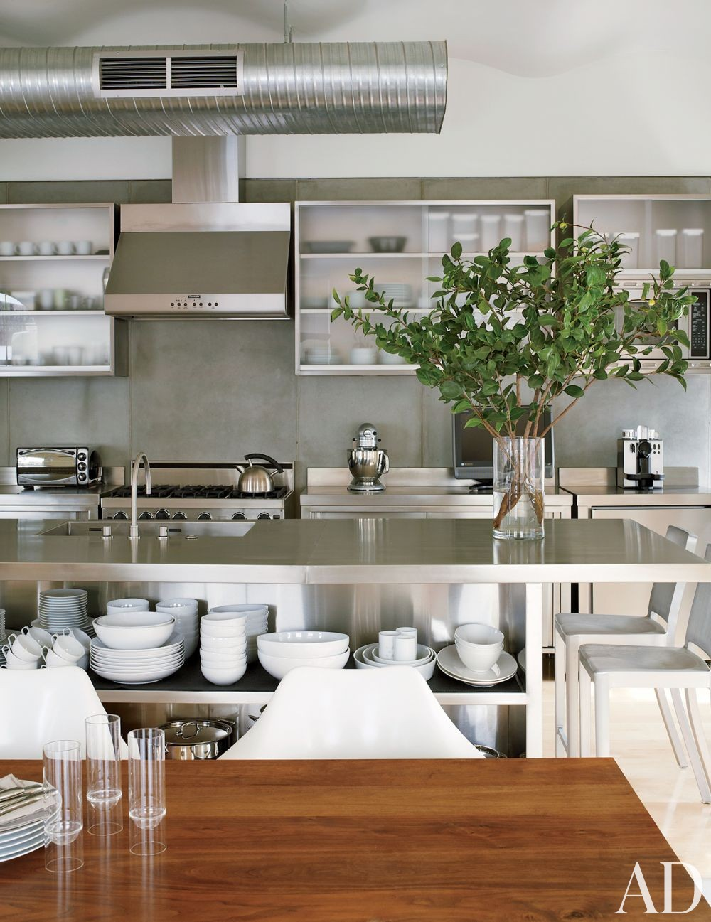 Modern kitchen by mr architecture d cor by architectural digest ad designfile home - Cuisine moderne images architectural digest ...