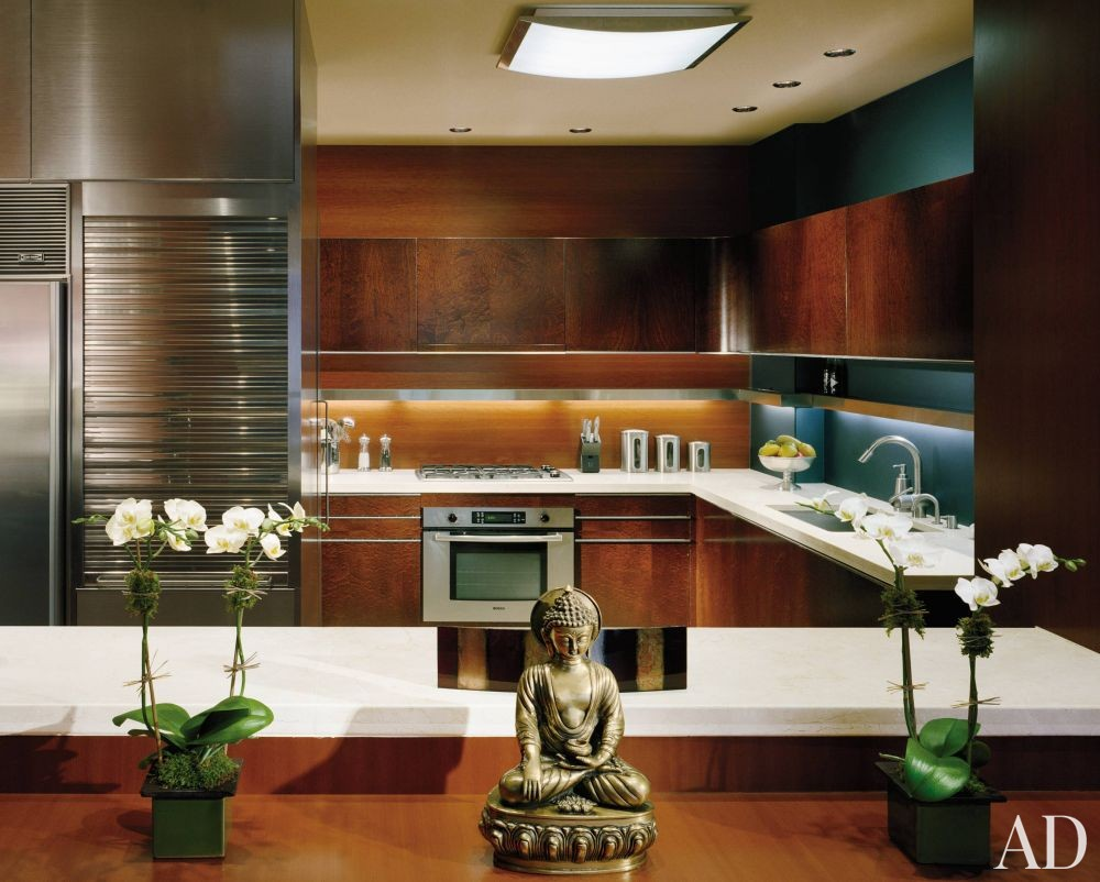 Modern Kitchen By Sherman Williams Design By Architectural Digest Ad Designfile Home