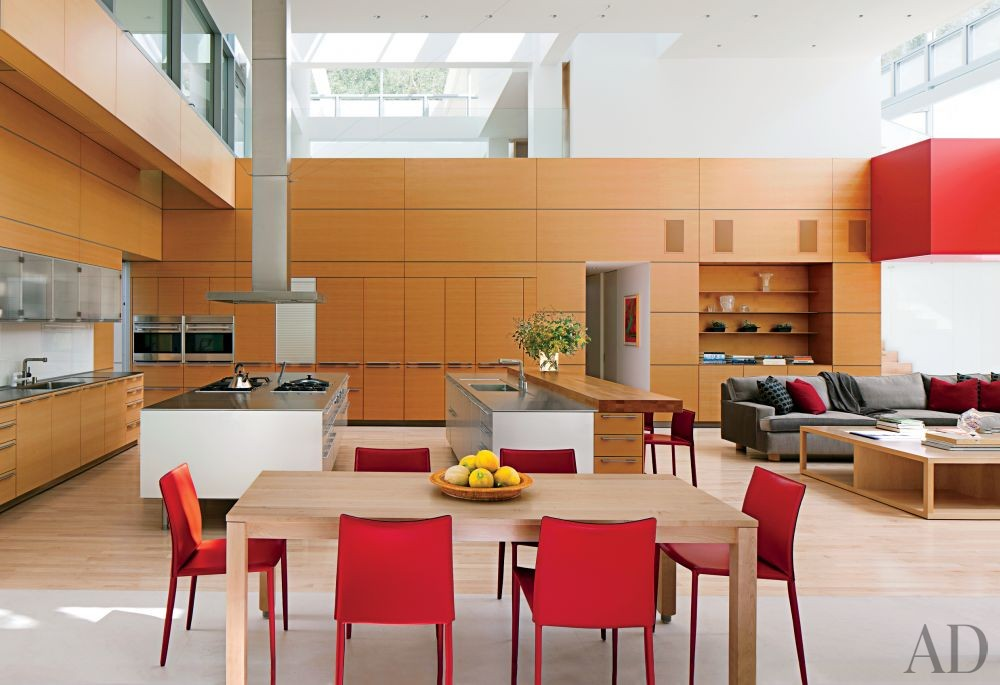 Modern Kitchen by Unique Custom Interiors and Lehrer Architects LA in Los Angeles, California