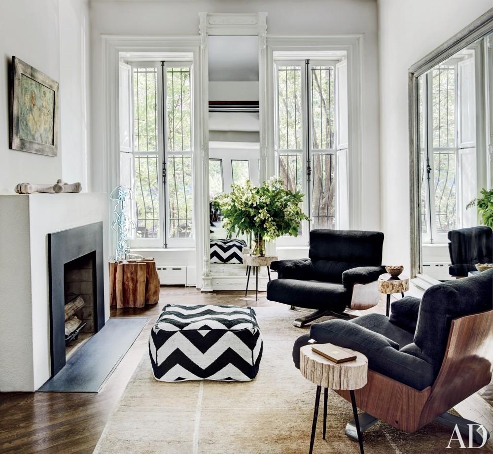 Modern Living Room and Robin Elmslie Osler in Brooklyn, NY