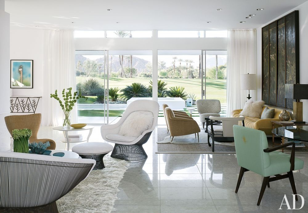 Modern Living Room By Emily Summers Design Associates By