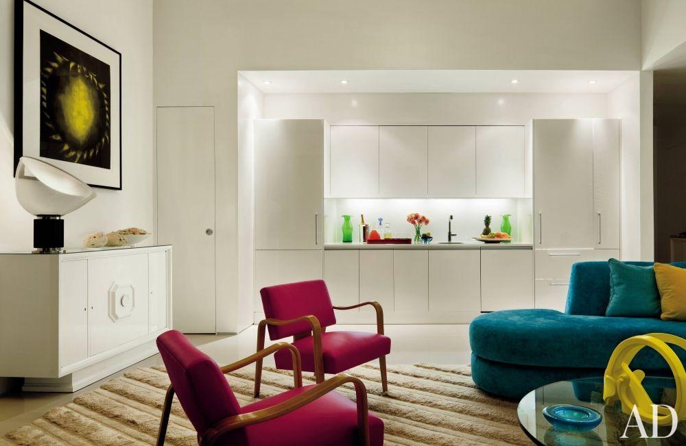 Modern Living Room by John Barman in Miami Beach, Florida