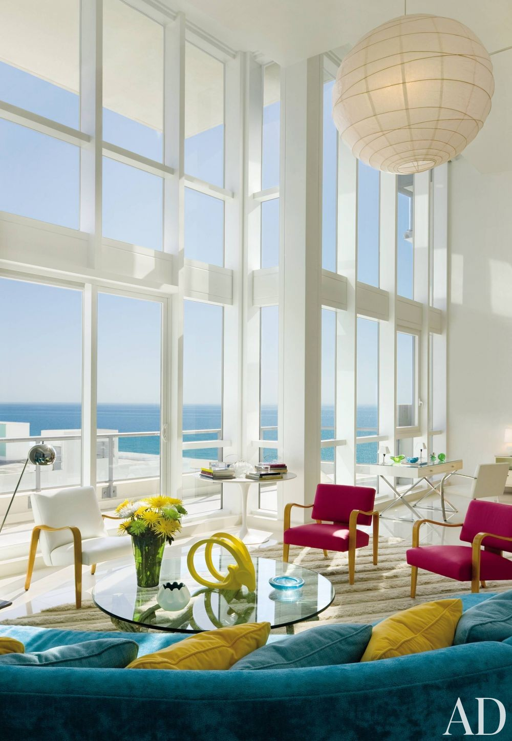 Modern Living Room By John Barman Inc By Architectural Digest AD DesignFil