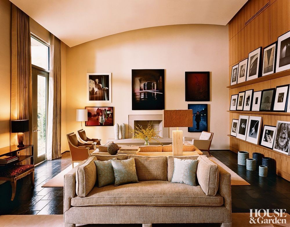 Modern Living Room By Lee Ledbetter By Architectural Digest Ad Designfile Home Decorating