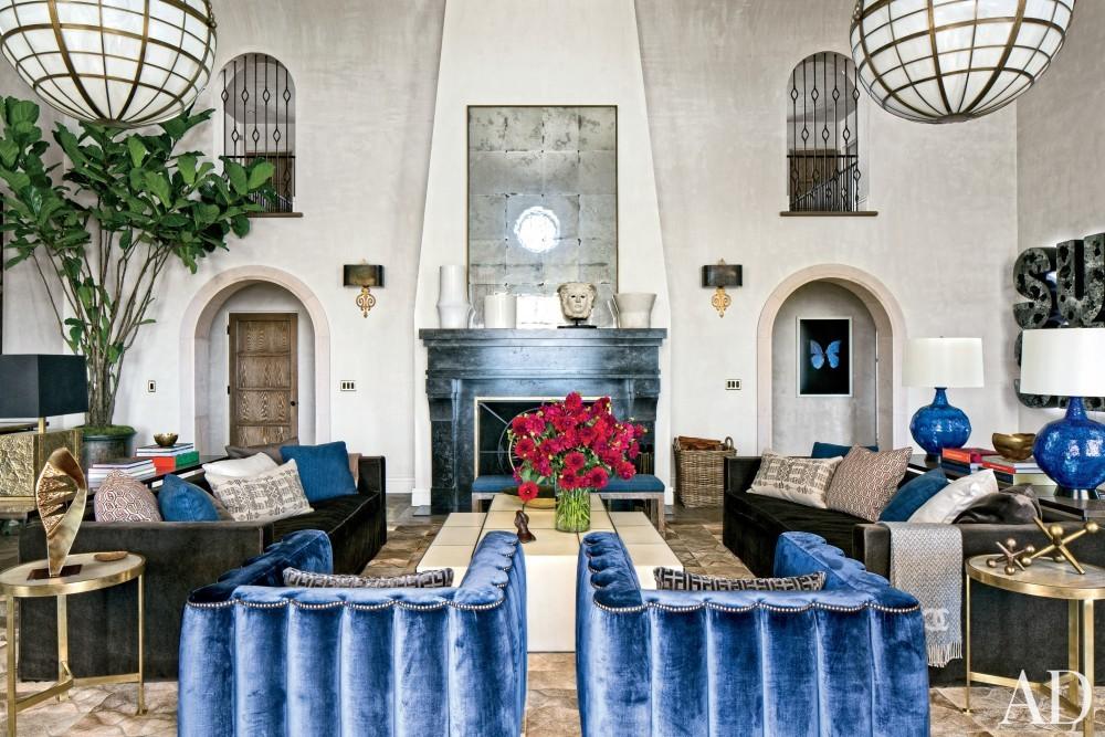 Modern Living Room by Martyn Lawrence Bullard Design in Los Angeles, CA
