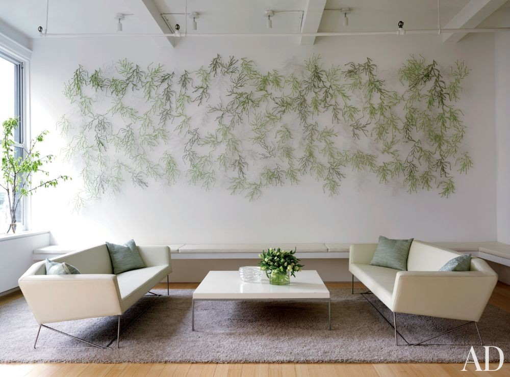 Modern Living Room and Desai/Chia Architecture in New York City