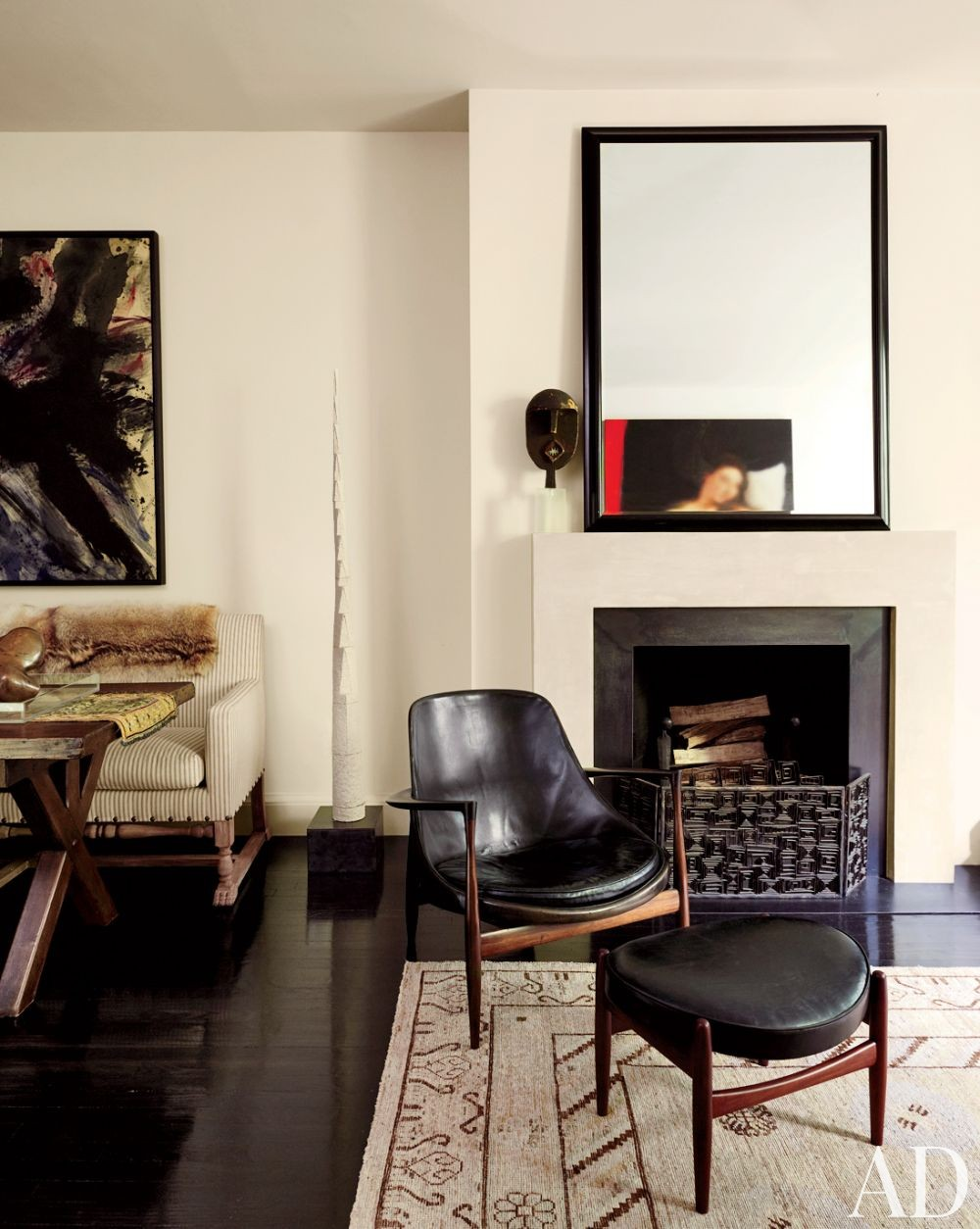 Modern living room by robert passal interior for Modern living room nyc