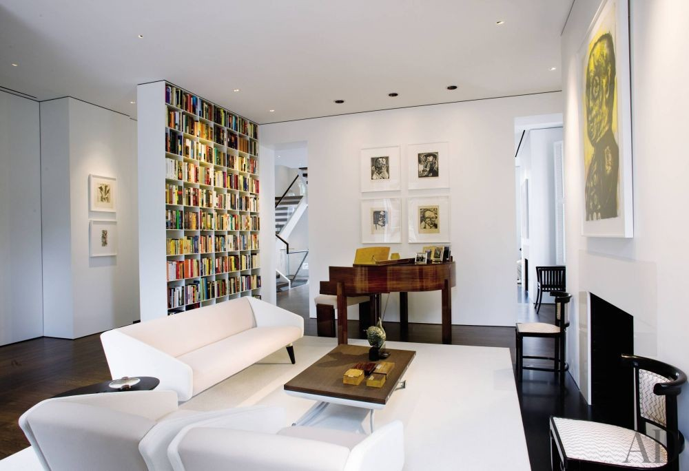 Modern Living Room and Jacobsen Architecture in Washington, D.C.