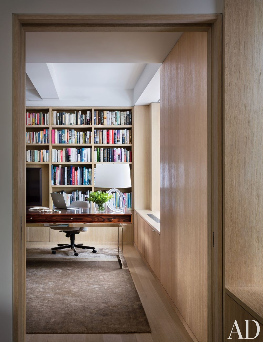 Modern Office/Library by Rees Roberts + Partners and Steven Harris Architects in New York, New York