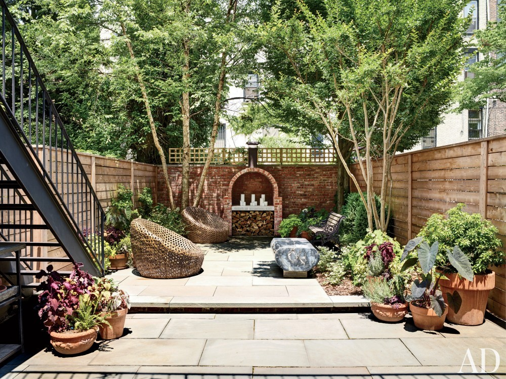 Modern Outdoor Space and Robin Elmslie Osler in Brooklyn, NY