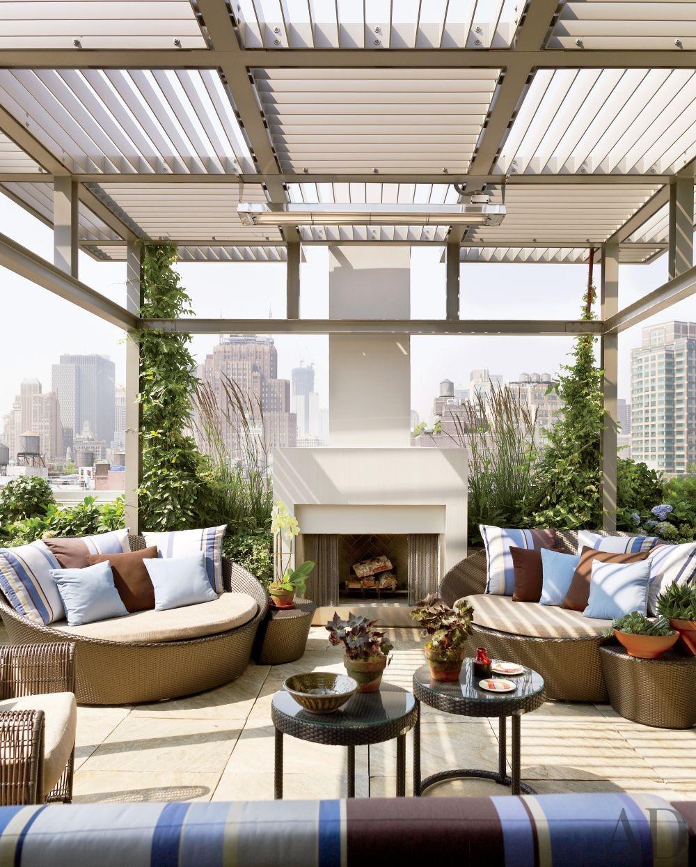 Modern Rooftop Terrace Design