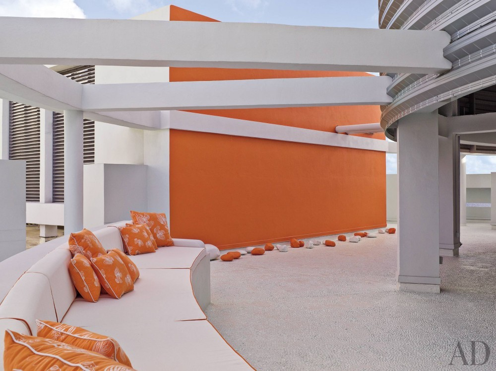Modern Outdoor Space by Jennifer Post and Jennifer Post in Miami Beach, FL