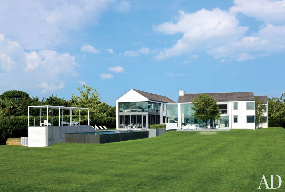 Modern Exterior by KA Design Group and Leroy Street Studio in East Hampton, New York