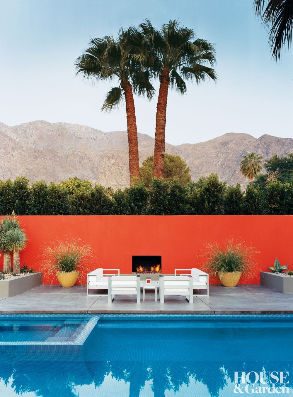 Modern Outdoor Space in Palm Springs, California