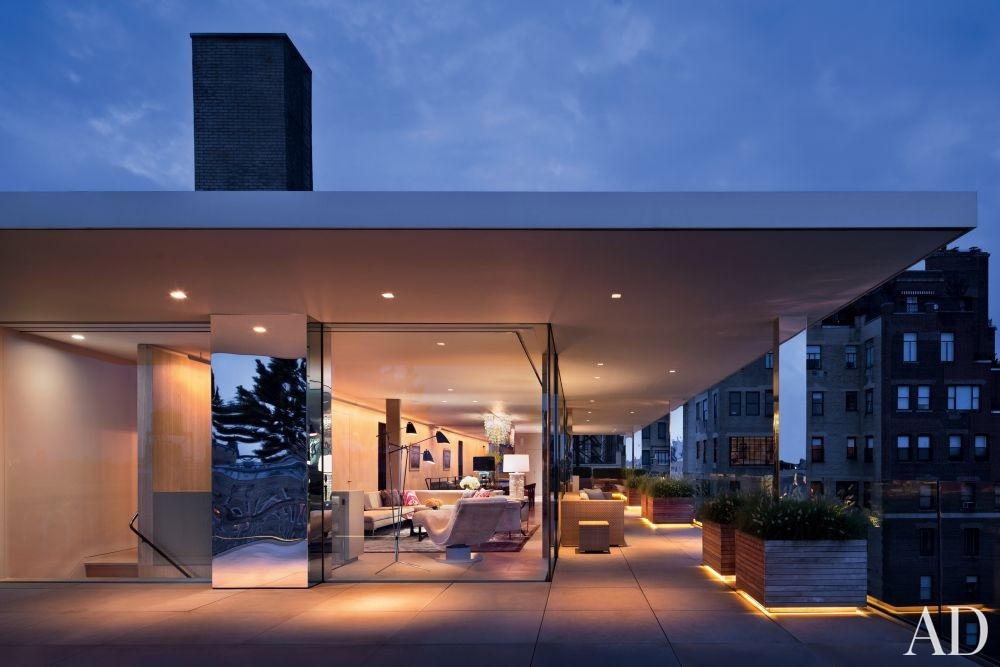 Modern outdoor space by rees roberts partners by for New space architects