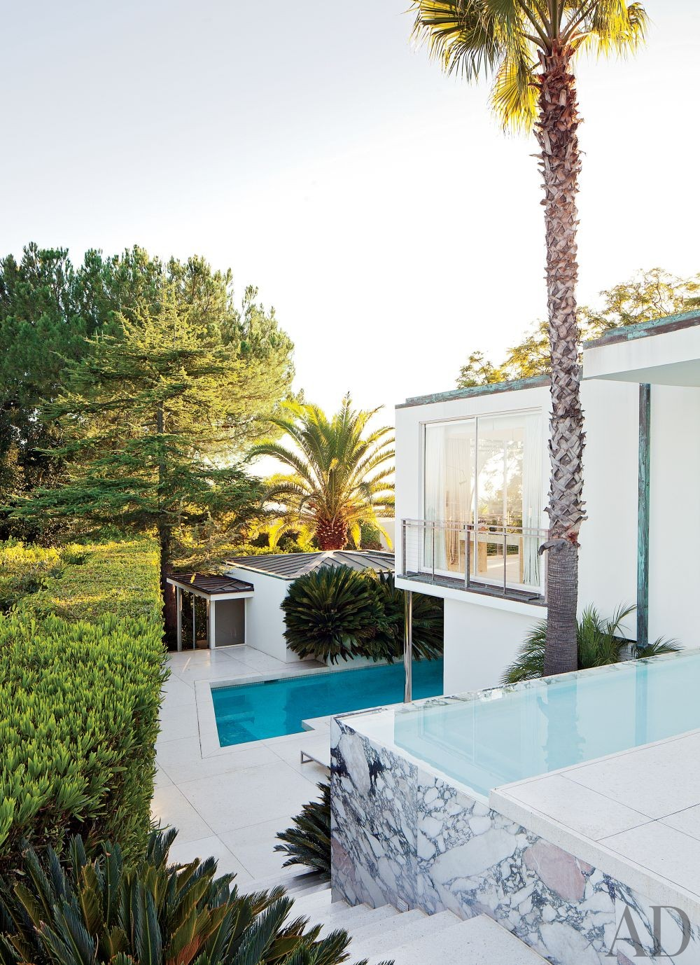Architectural Digest Pool Designs: Modern Pool By Daniel Romualdez By Architectural Digest