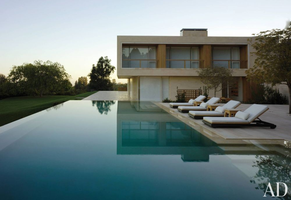 Modern Pool By John Pawson Ltd By Architectural Digest Ad Designfile Home Decorating Photos