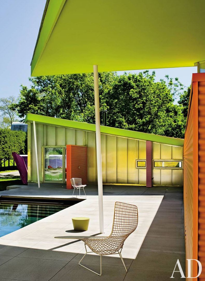 Modern Pool and Stamberg Aferiat in Shelter Island, New York