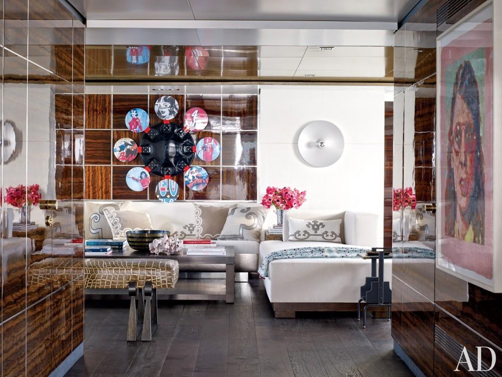 Modern Salon by Joanne de Guardiola and Jon Bannenberg